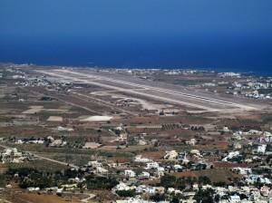 aéroport Santorin
